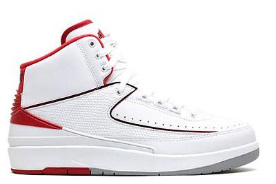 Hoe vallen Air Jordan 2